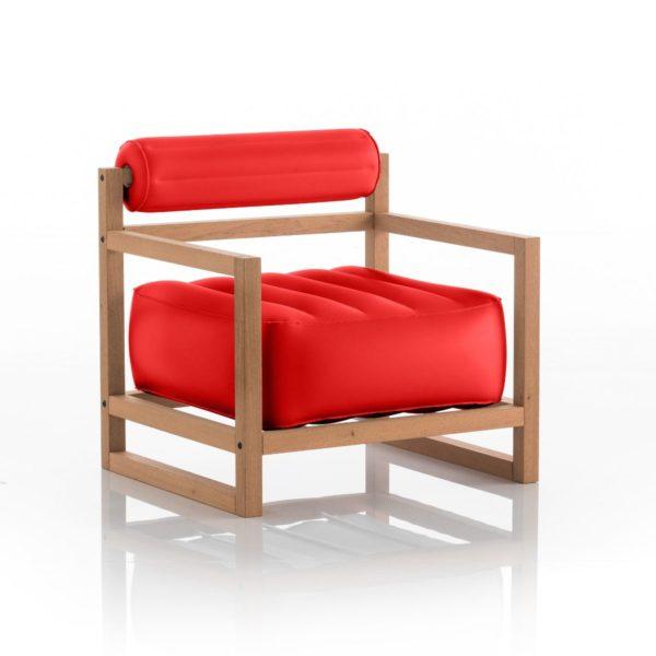 כורסת-יוקו-בצבע-אדום-אטום-עץ
