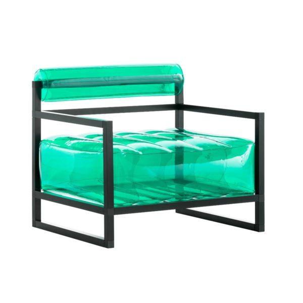 כורסת-יוקו-בצבע-ירוק-קריסטל-אלומיניום