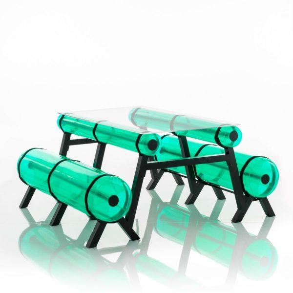ספסל-זיבה-מטר-וחצי-בצבע-ירוק-קריסטל