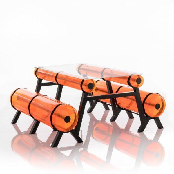 ספסל-זיבה-מטר-וחצי-בצבע-כתום-קריסטל-